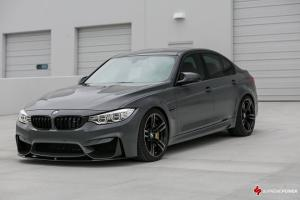 BMW M3 Sedan Grigio Telesto by Supreme Power 2016 года